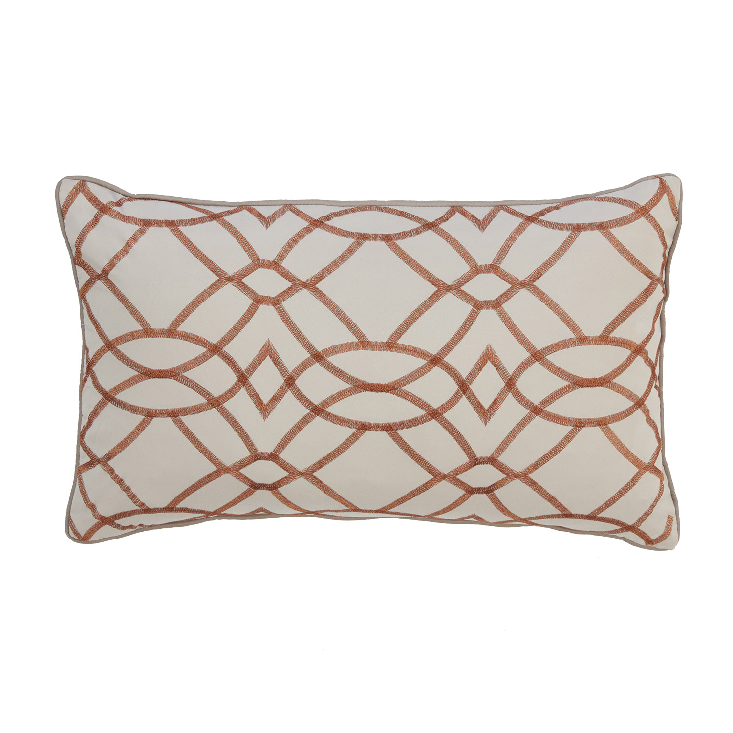 Alex Luxury Quilted Filled Boudoir Cushion