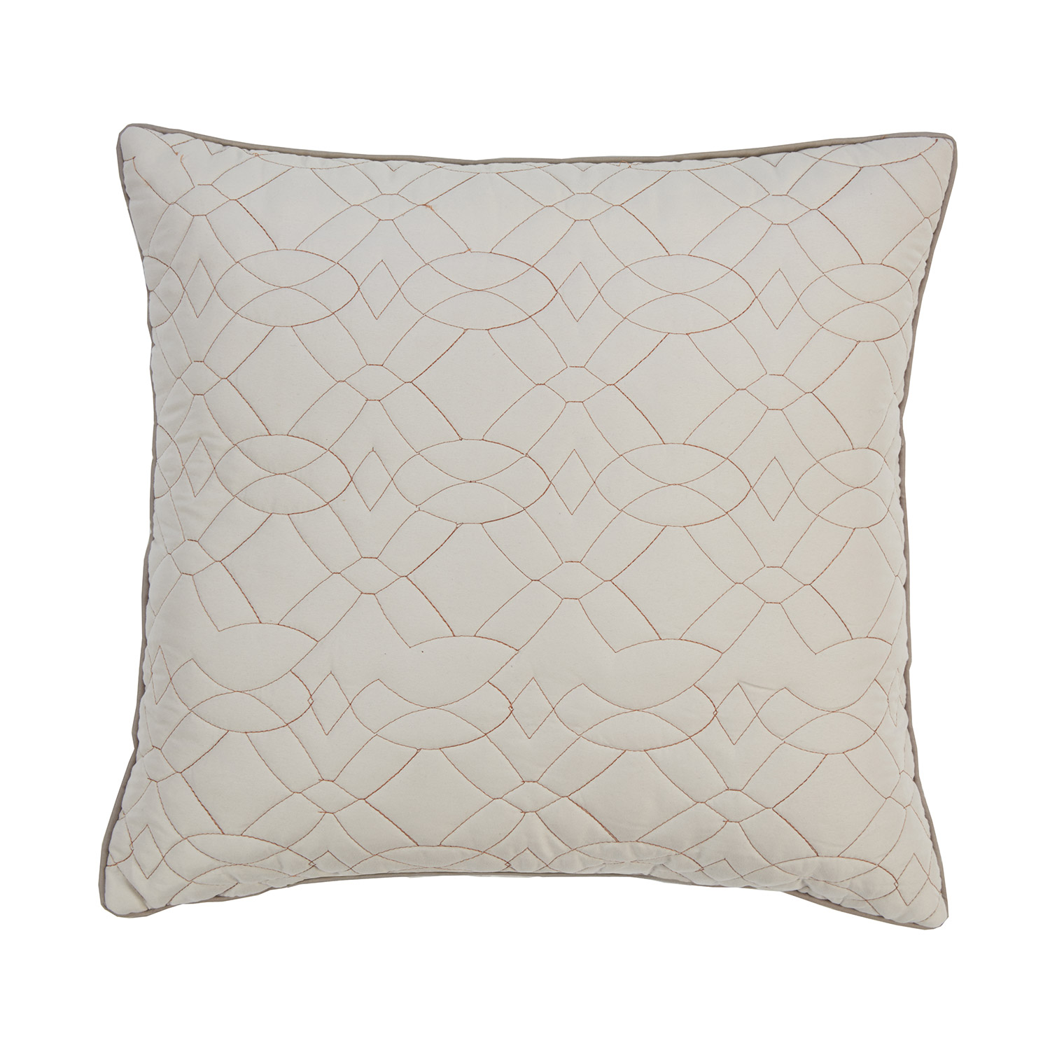 Alex Luxury Quilted Filled Square Cushion