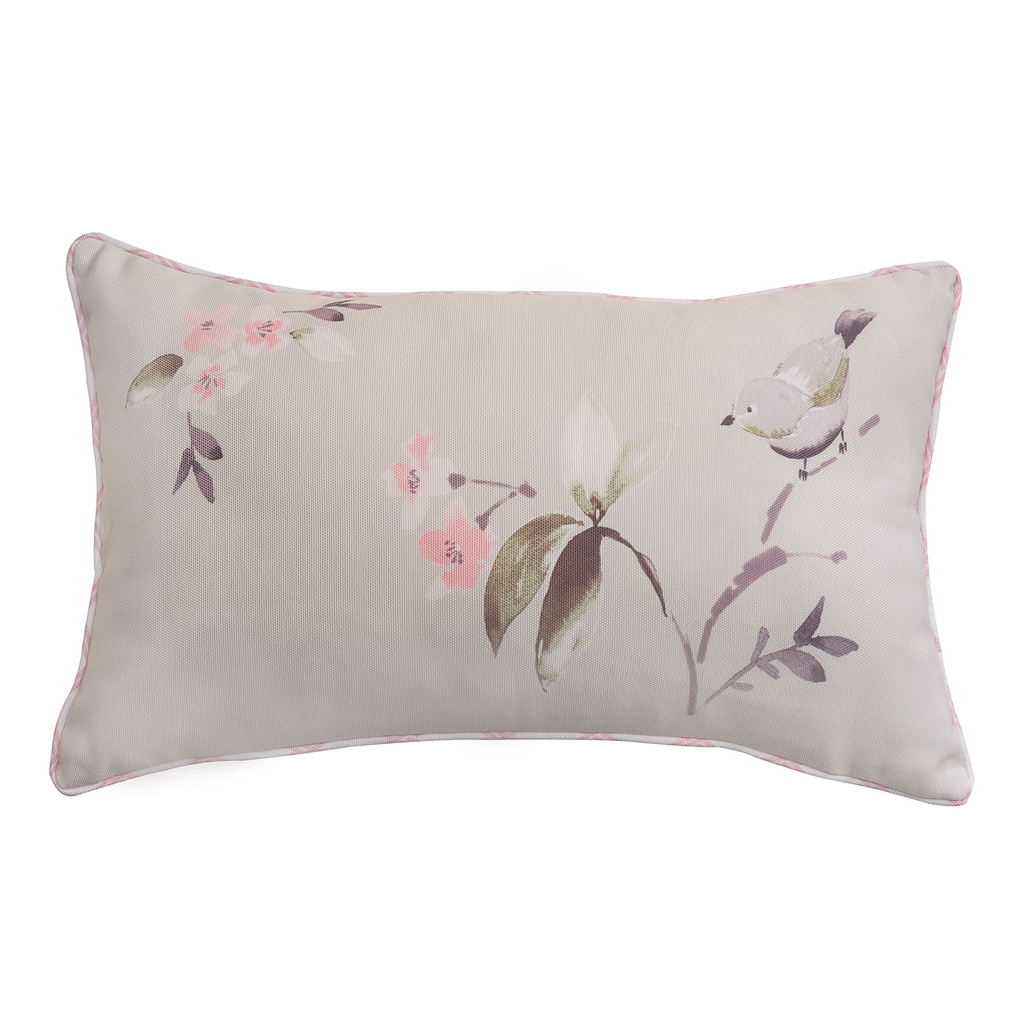 Amelie Coral Filled Boudoir Cushion