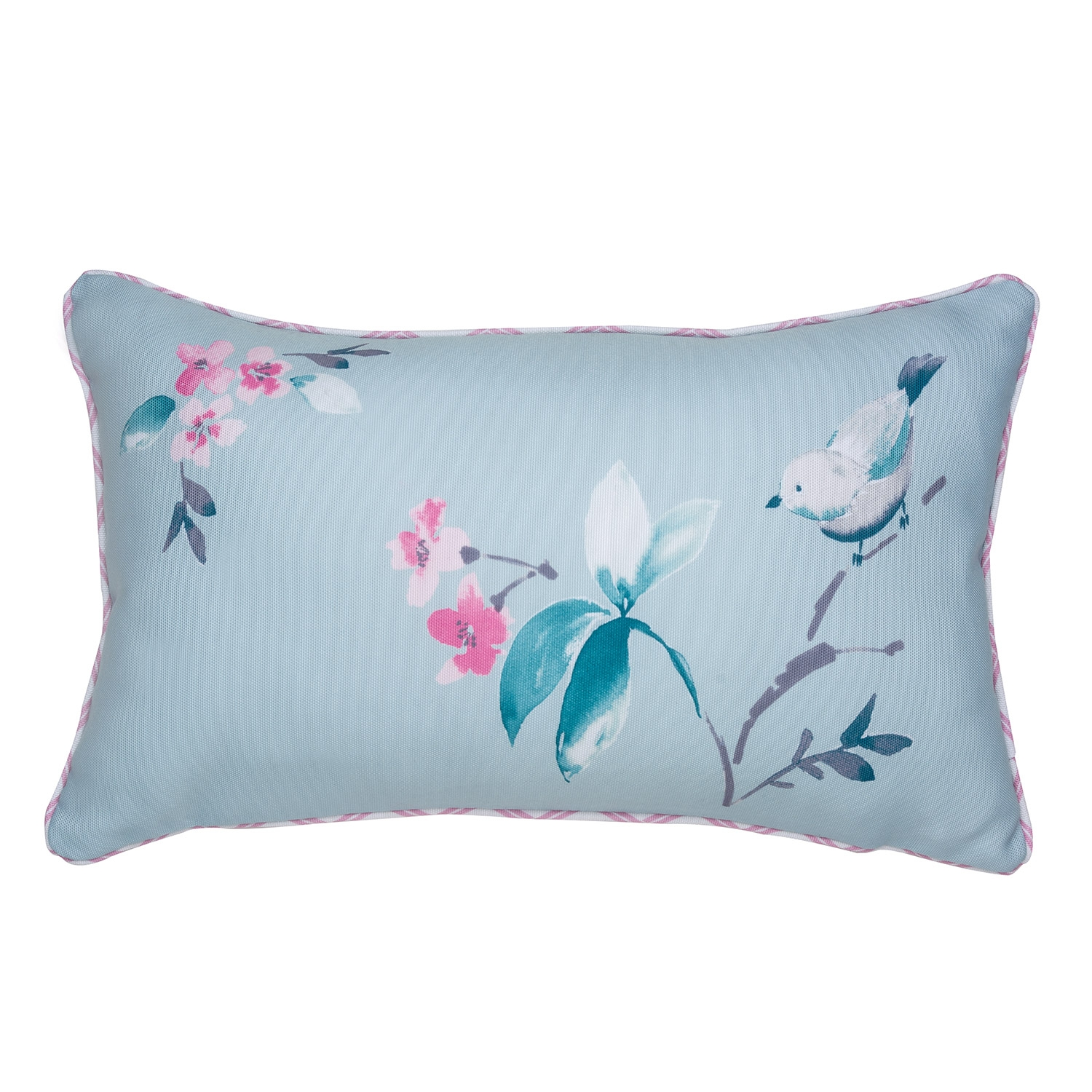 Amelie Teal Filled Boudoir Cushion