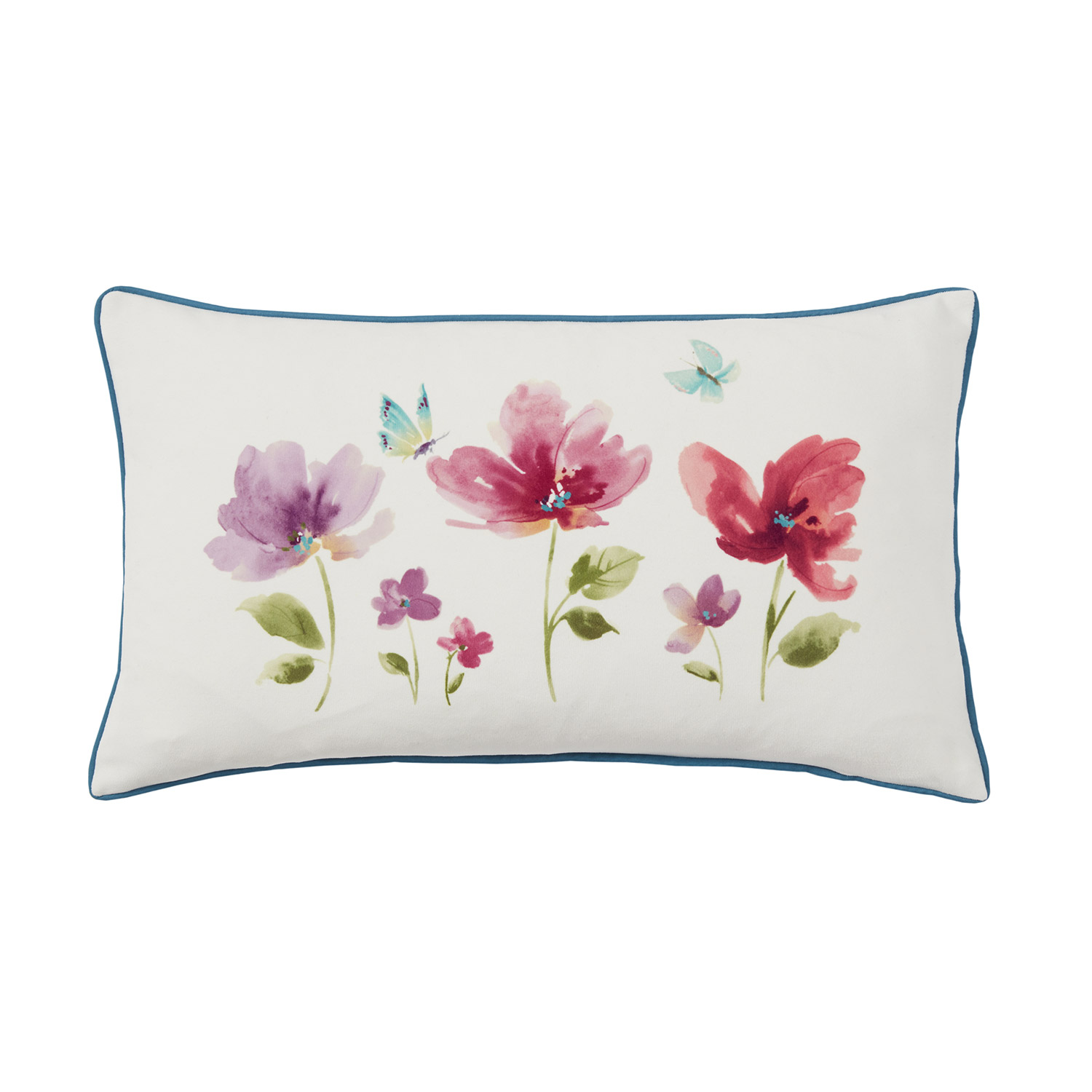 Amy Floral Luxury Filled Boudoir Cushion
