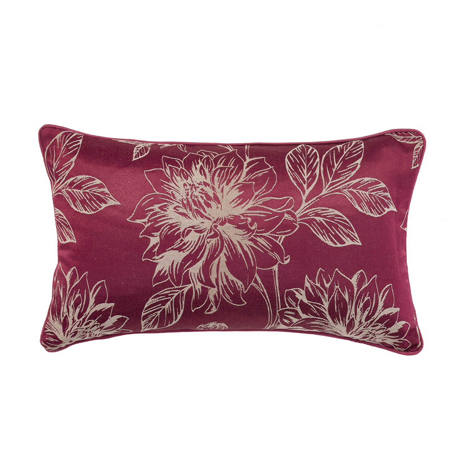 Annabelle Raspberry Filled Boudoir Cushion
