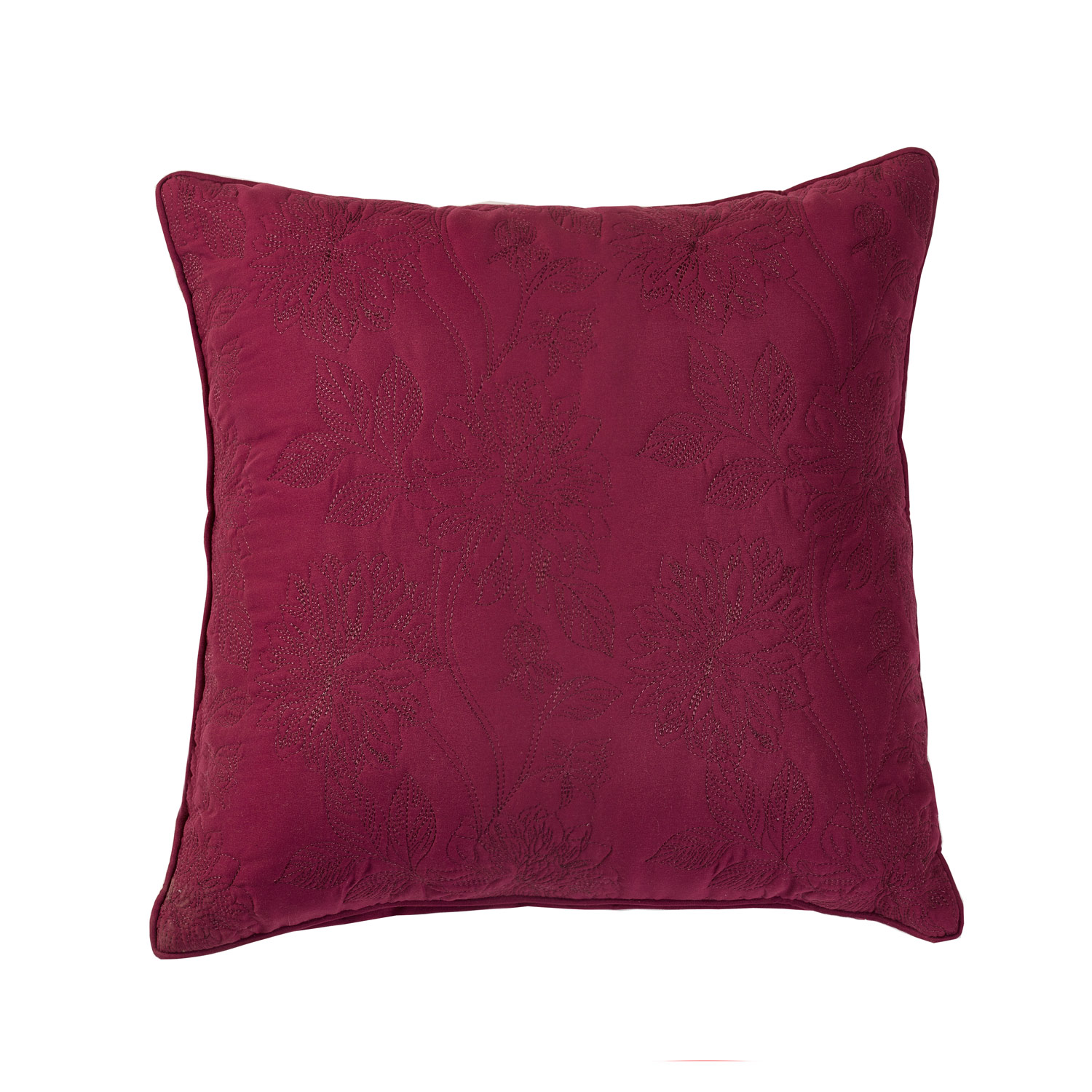 Annabelle Raspberry Filled Square Cushion