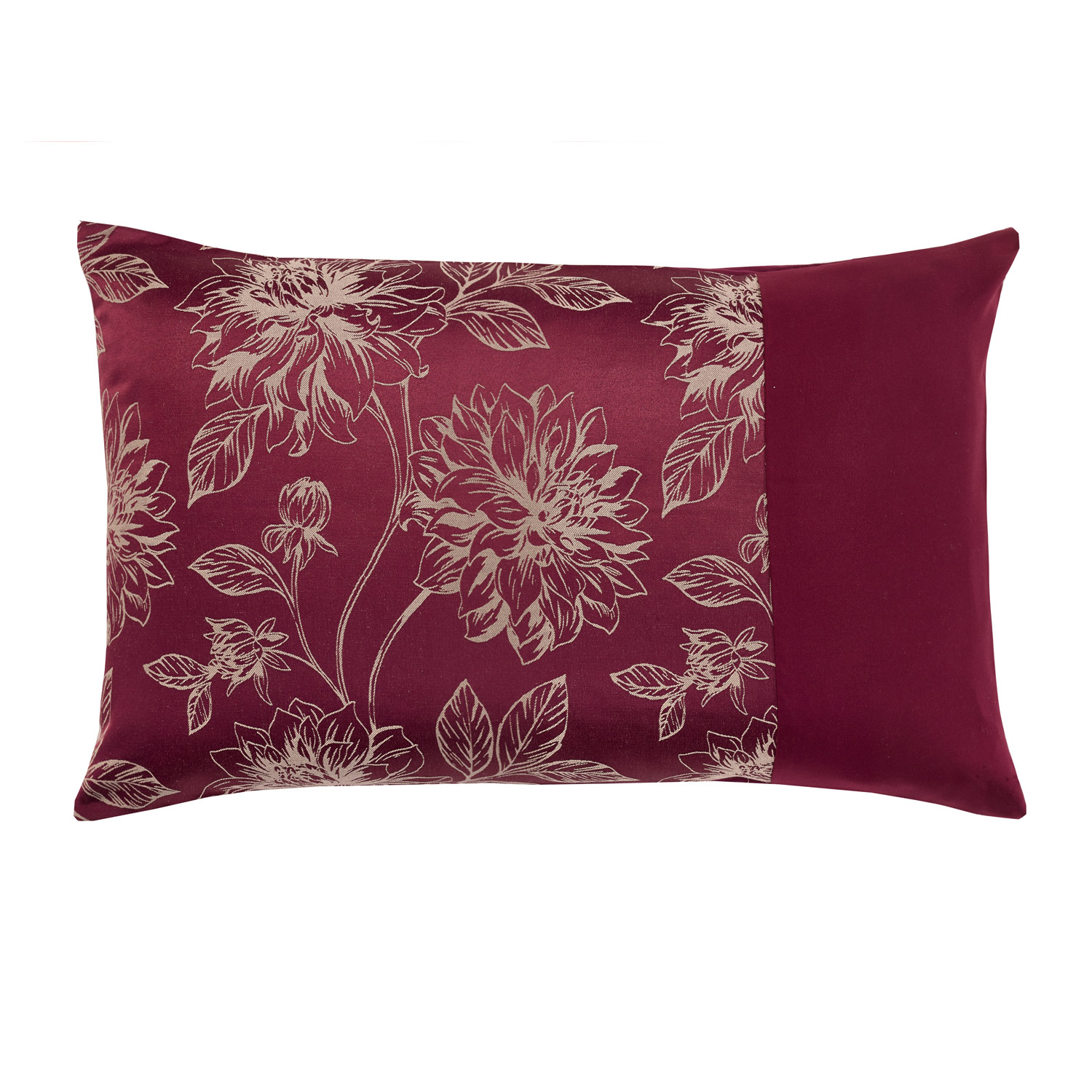 Annabelle Raspberry Housewife Pillow Cases (Pair)