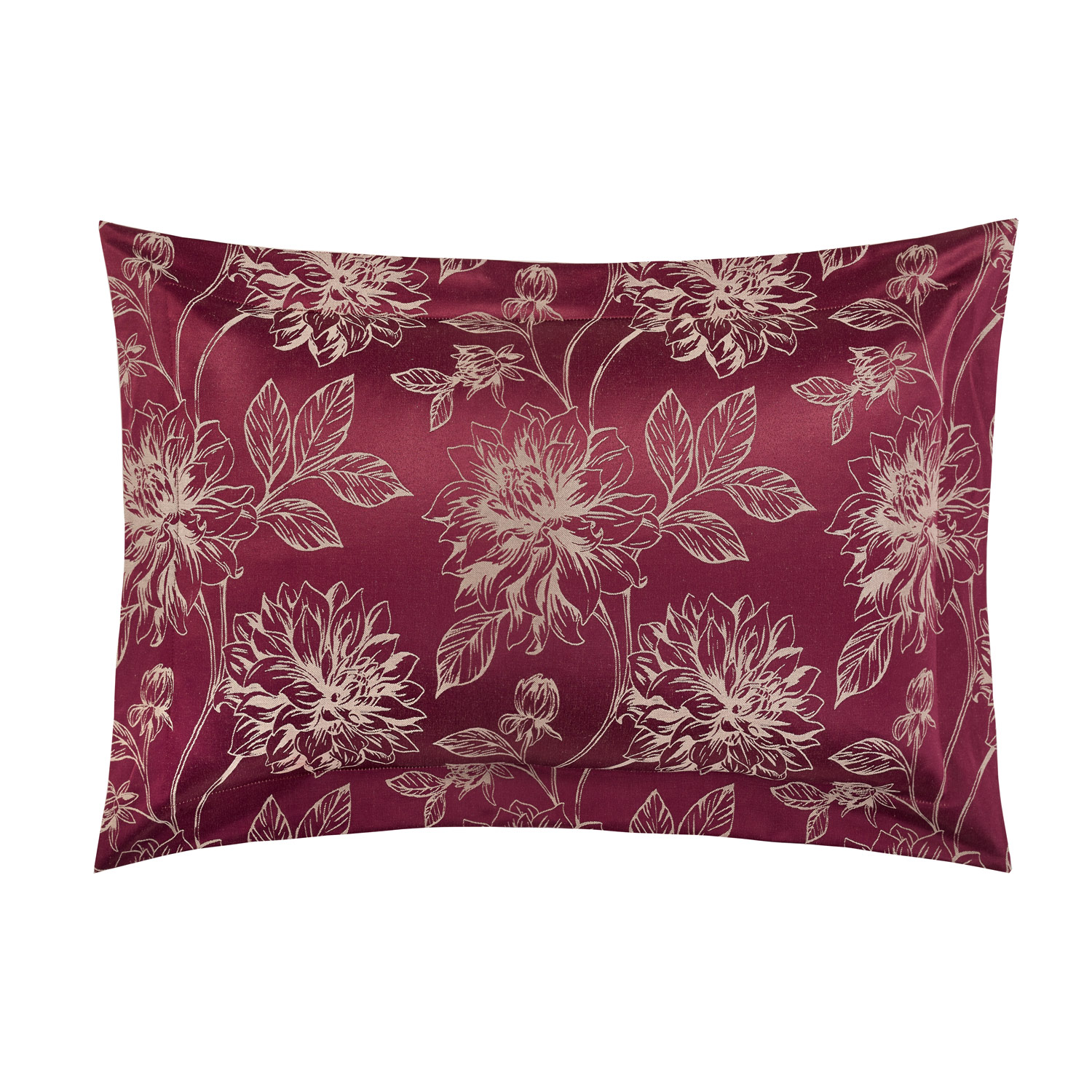 Annabelle Raspberry Oxford Pillow Cases (Pair)