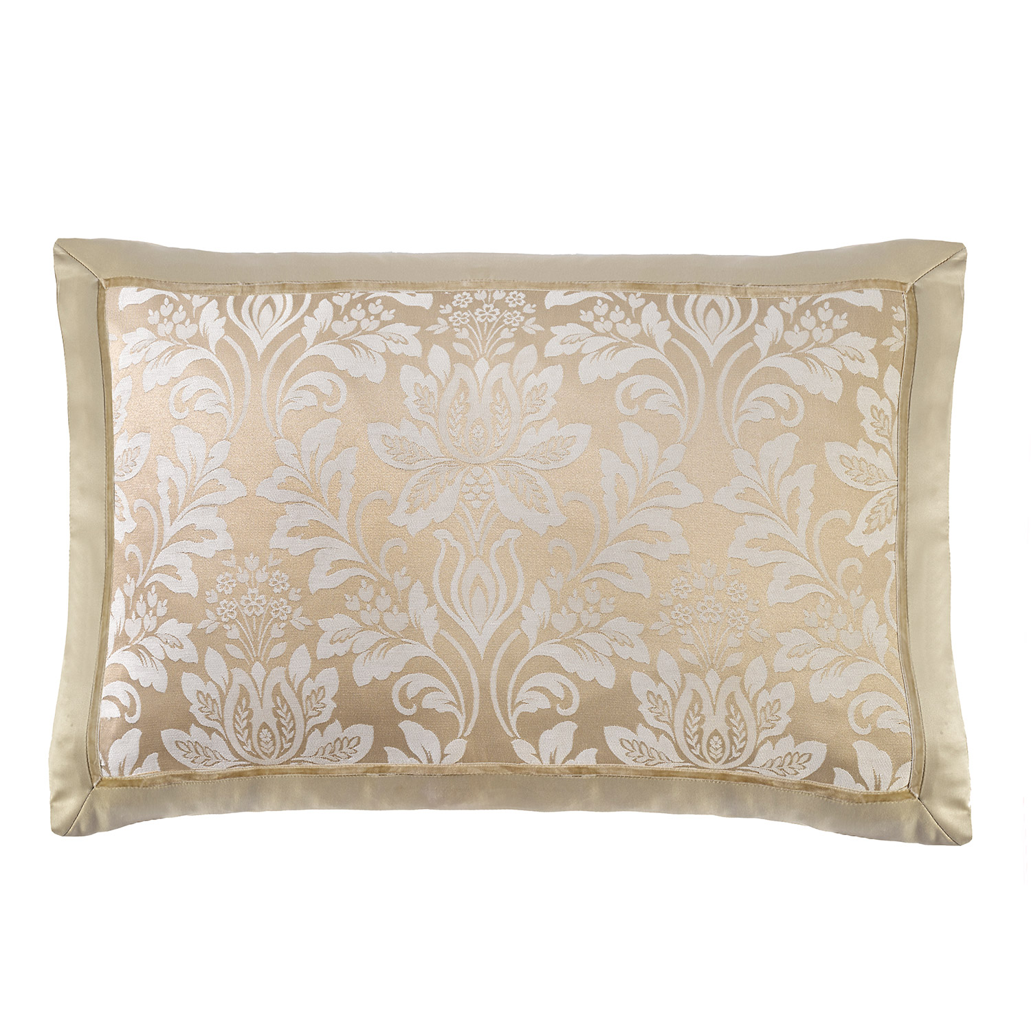 Stockists of Blenheim Gold Luxury Jacquard Housewife Pillow Cases (Pair)