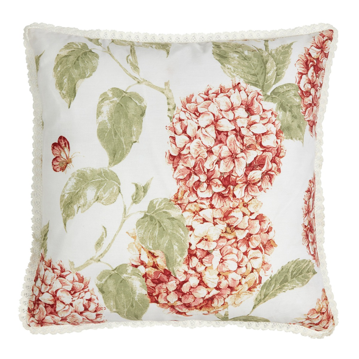 Bloomsbury Autumn Square Filled Cushion