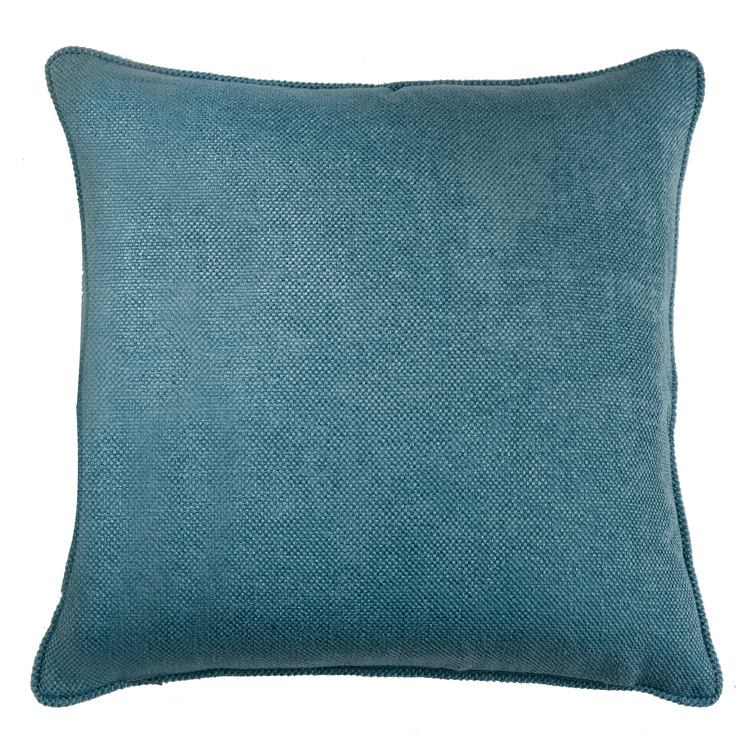 Buxton Teal Filled Square Cushion