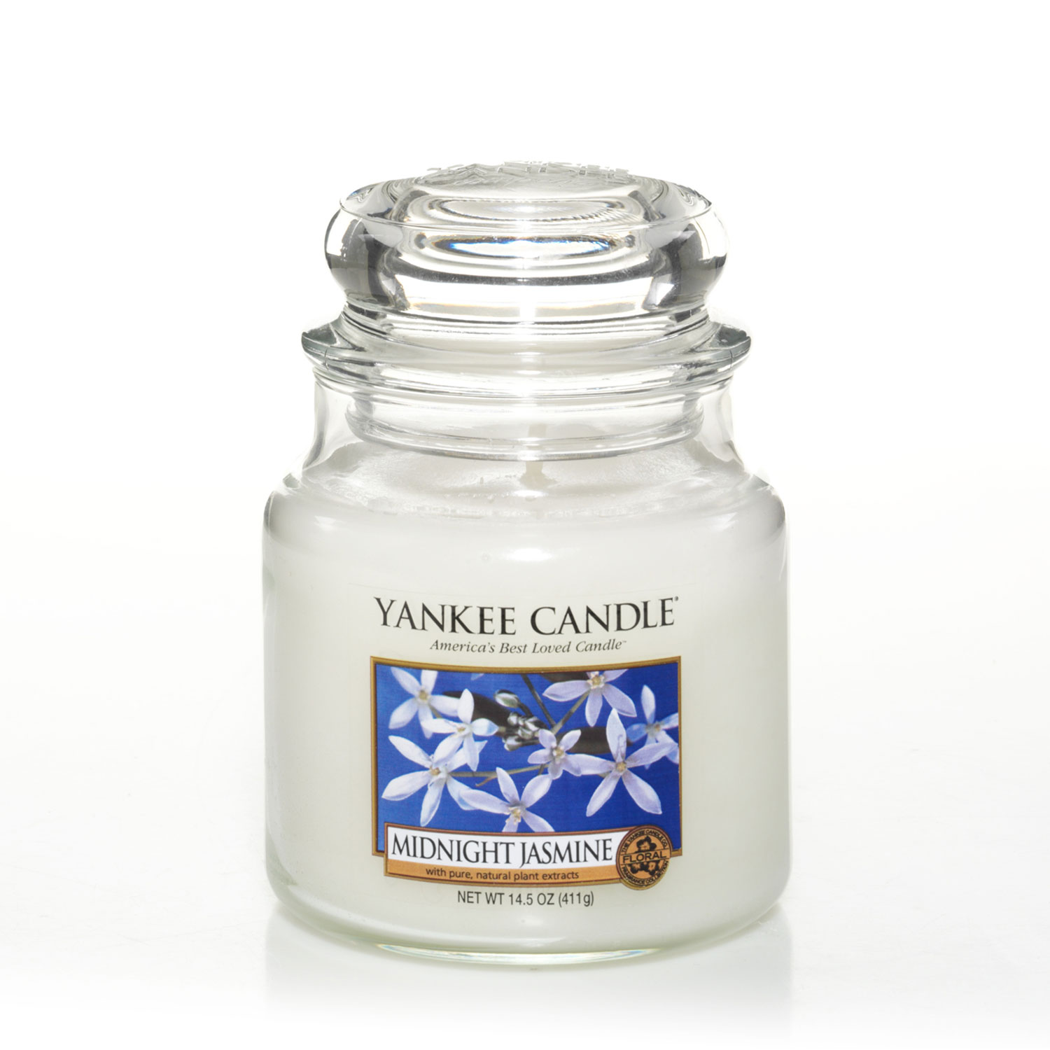 Yankee Midnight Jasmine Medium Jar Candle